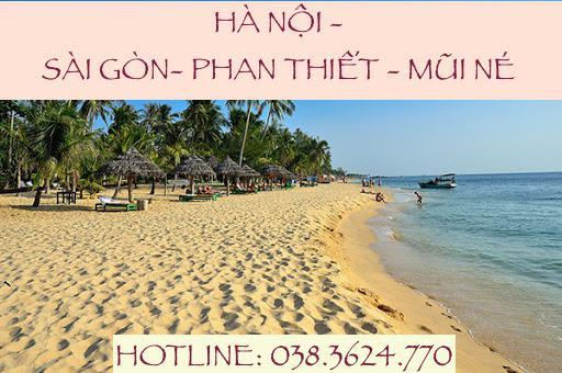Tour Hà Nội – Sài Gòn – Mũi Né – Vũng Tàu trọn gói 4N3Đ, bay Vietjetair chỉ từ 5.590.000Đ/khách