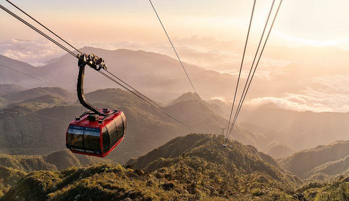 Trải nghiệm Sun World Fansipan Legend, tuyến cáp treo 3 dây dài nhất thế giới