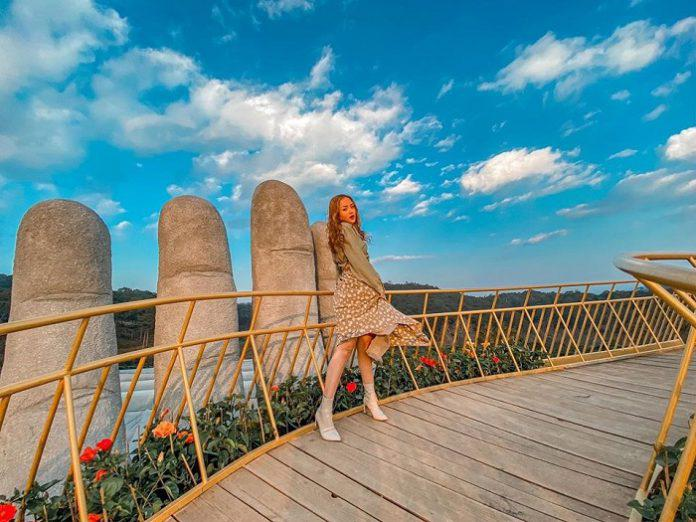 Check in Cầu Vàng Đà Nẵng – một trong những cây cầu đẹp nhất thế giới