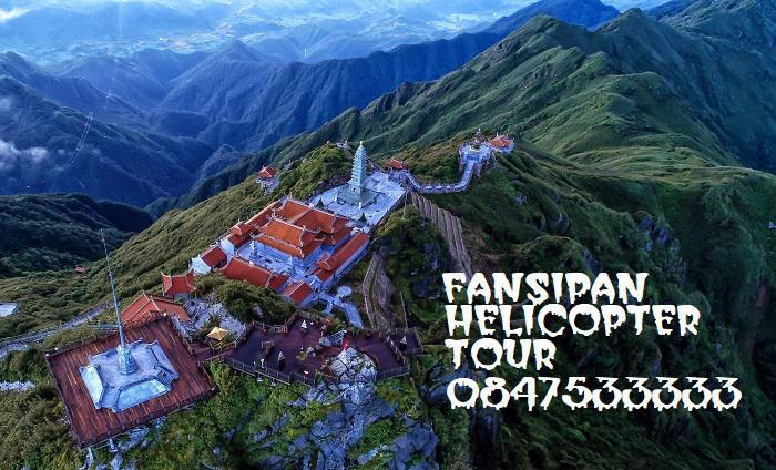 Mở bán tour trực thăng giá shock khám phá đèo Ô Quy Hồ, đỉnh Fansipan và dãy Hoàng Liên Sơn