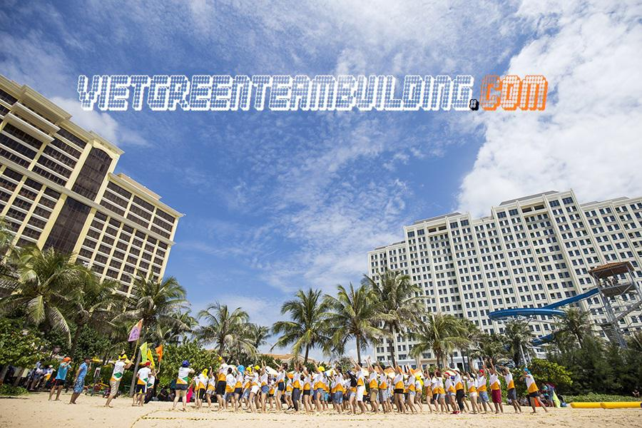 Du Lịch TeamBuilding & Gala Dinner Hồ Tràm Strip 2 ngày cho 1100 nhân viên tập đoàn Hưng Thịnh