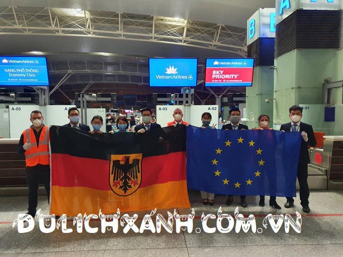 Chuyến bay chatter hồi hương từ Đức về  Hồ Chí Minh tháng 5 và 6 - 2021