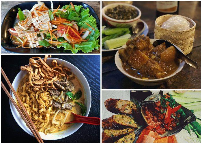 Đặc sản Chiang Mai đầy màu sắc- chuẩn hương vị Thái