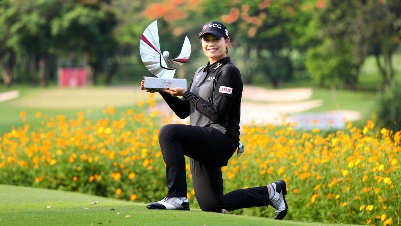 Golfer Thái Lan lần đầu thắng giải LPGA Tour ở quê nhà