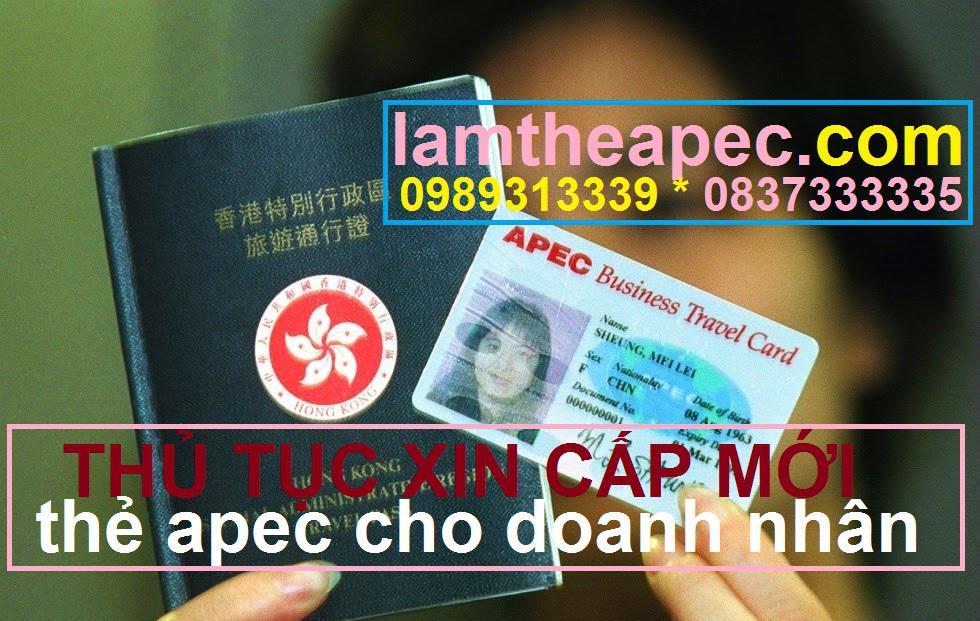 Dịch vụ gia hạn thẻ, làm lại thẻ APEC 2021 nhanh, rẻ