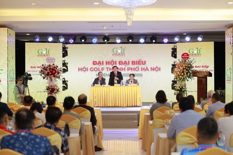 Hội Golf TP Hà Nội bầu ban chấp hành nhiệm kỳ mới