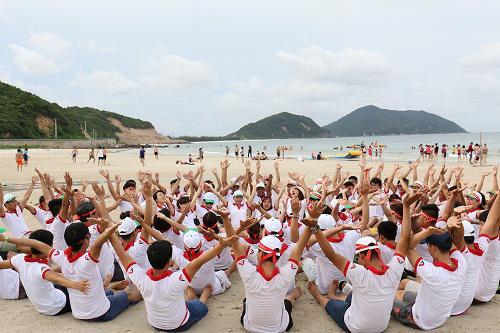 Tổ chức du lịch teambuilding tại bãi biển đẹp nhất- Cô Tô