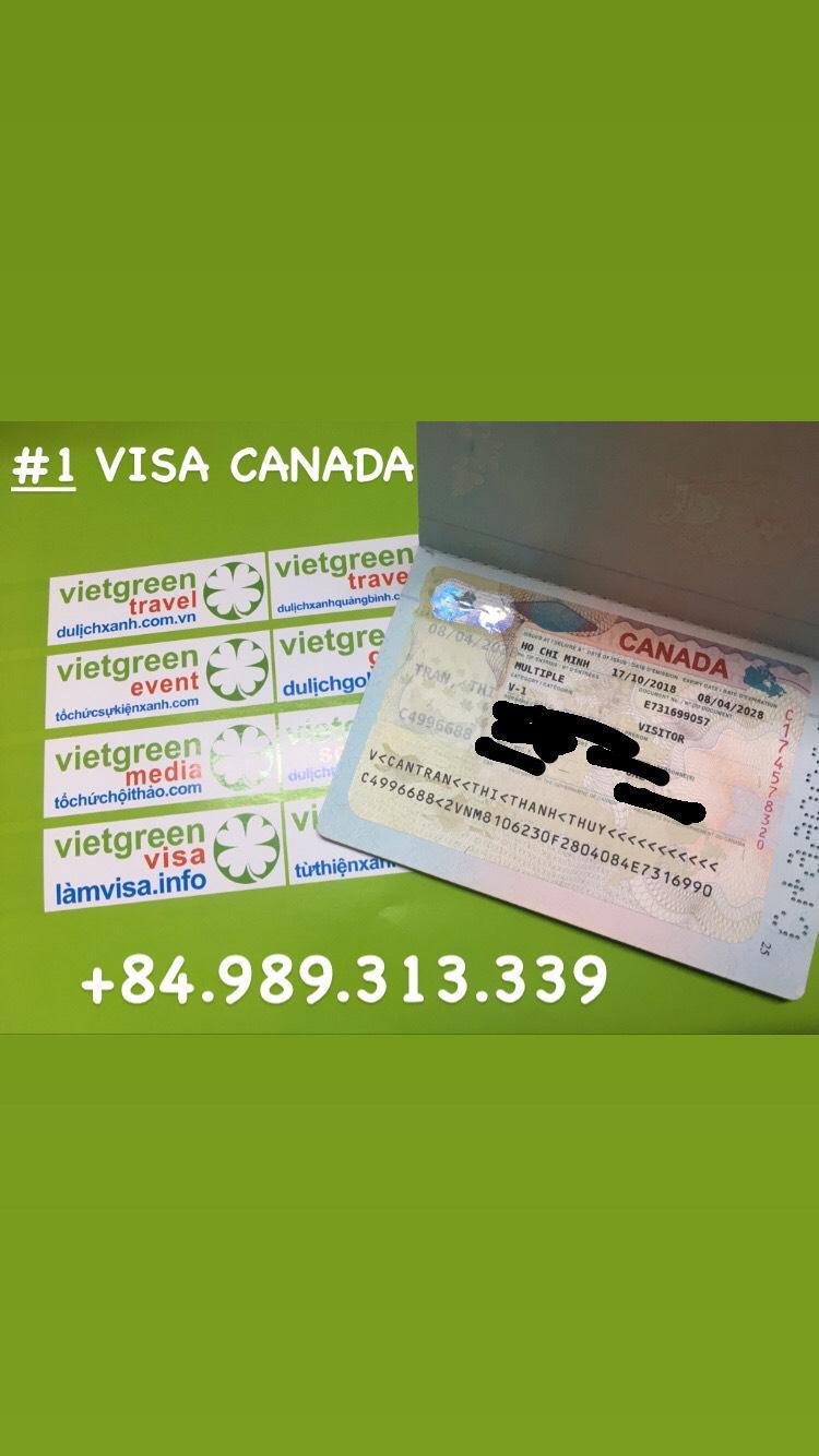 Lệ phí xin Visa Canada là bao nhiêu   Viet Green Visa