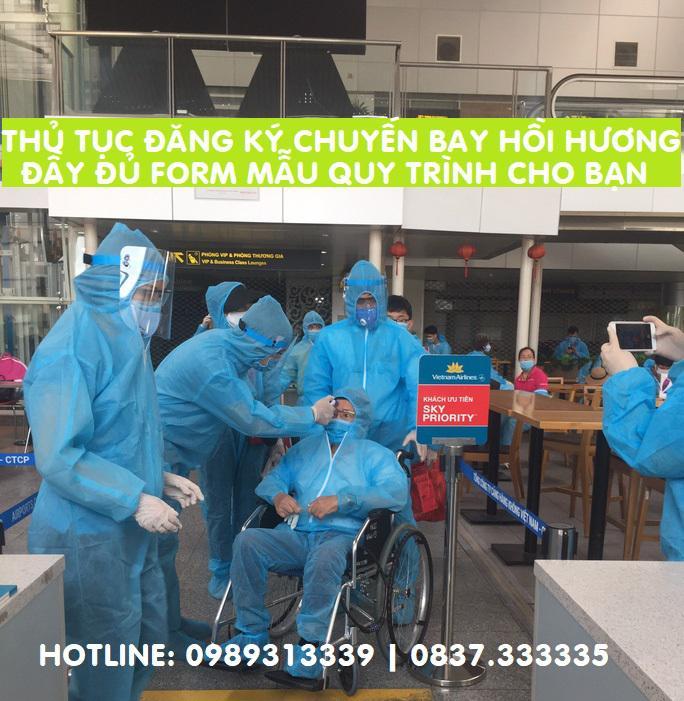 Cách làm thủ tục hồi hương về Việt Nam tránh dịch Covid mới nhất
