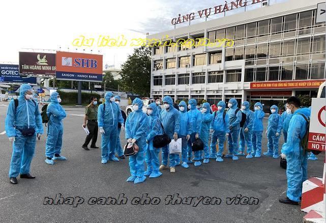 Xin công văn nhập cảnh cho thuyền viên về Việt Nam bằng đường biển