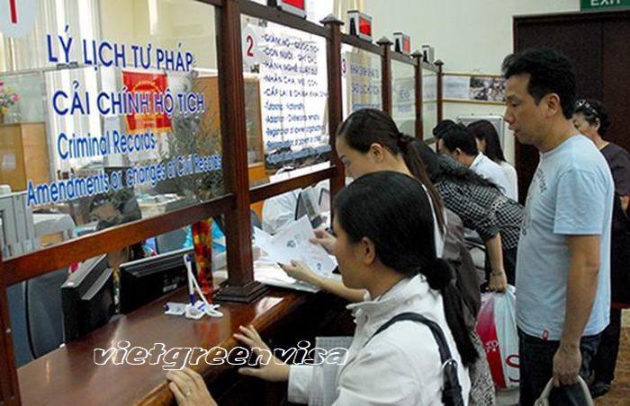 Dịch vụ xin cấp lý lịch tư pháp | Du lịch Xanh