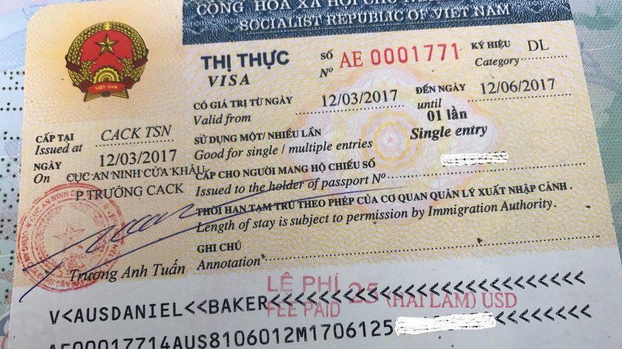 Người Ấn Độ xin gia hạn visa tại Việt Nam
