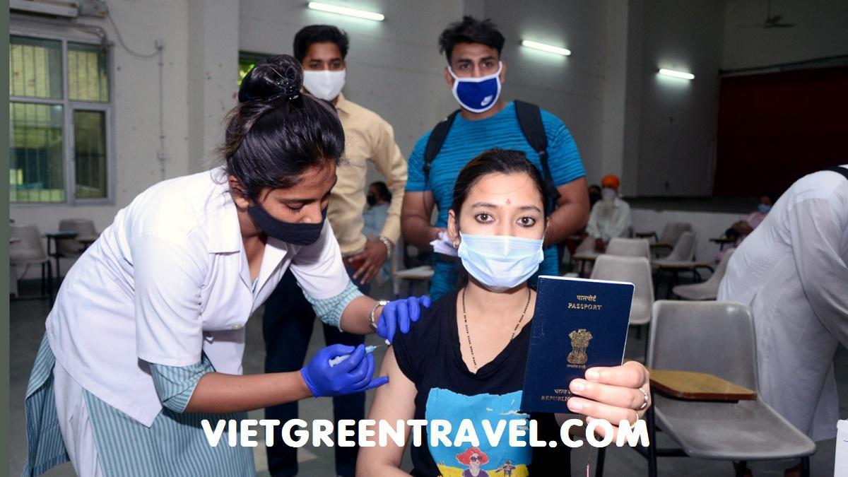 """Ấn Độ sẽ thảo luận """"hộ chiếu vaccine"""""""