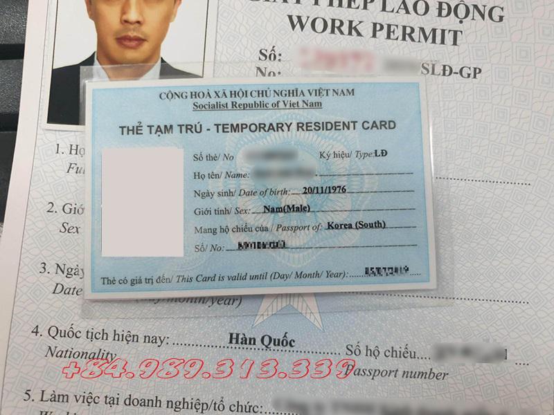 Người lao động nước ngoài tại Việt Nam được quyền cấp thẻ tạm trú