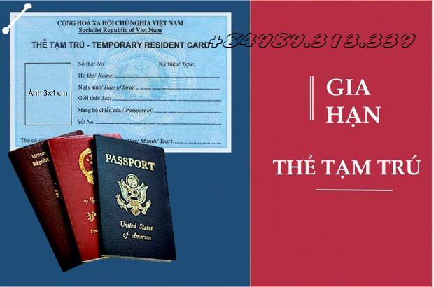 Thủ tục xin cấp giấy phép lao động cho người nước ngoài làm thẻ tạm trú