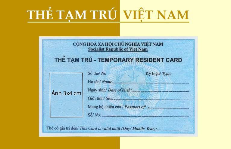 Mẫu công văn đề nghị cấp thẻ tạm trú