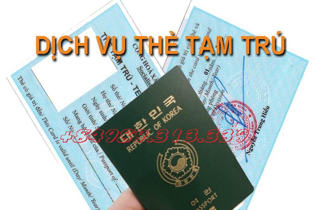 Tư vấn làm thẻ tạm trú cho khách quốc tịch Ukraina