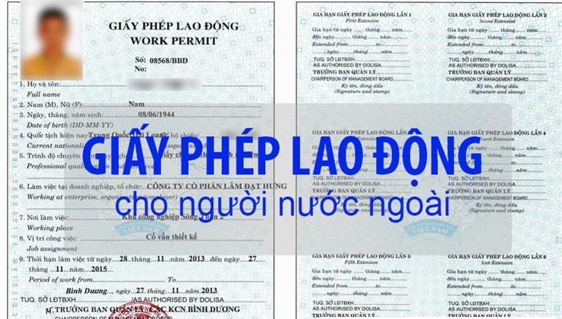 Hợp pháp hóa lãnh sự các giấy tờ xin giấy phép lao động