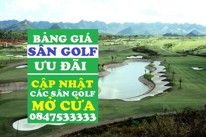 Bảng giá tee-time đánh golf tháng 7 ưu đãi mừng các sân golf mở cửa trở lại