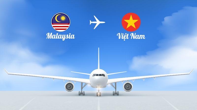 Lịch khai thác chuyến bay Malaysia về Việt Nam tháng 7,8,9