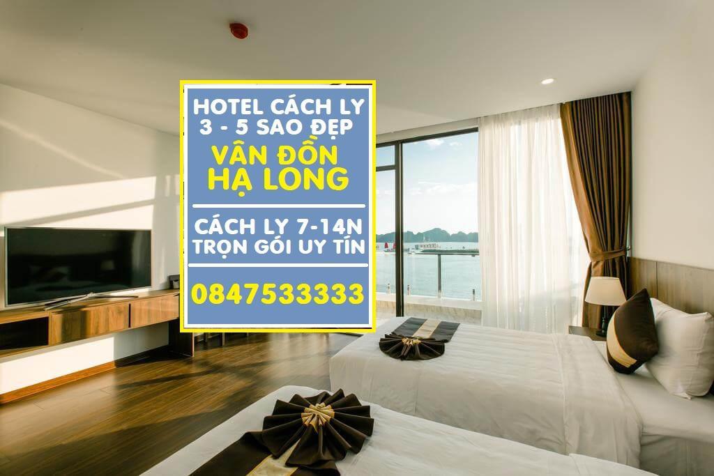 Danh sách khách sạn cách ly tại Quảng Ninh - Vân Đồn 14 ngày phục vụ chuyên nghiệp A - Z