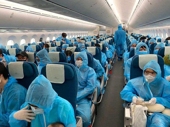 Lịch bay cácchuyến bay hồi hương từ Hàn Quốc về Việt Nam tháng 8, 9/2021