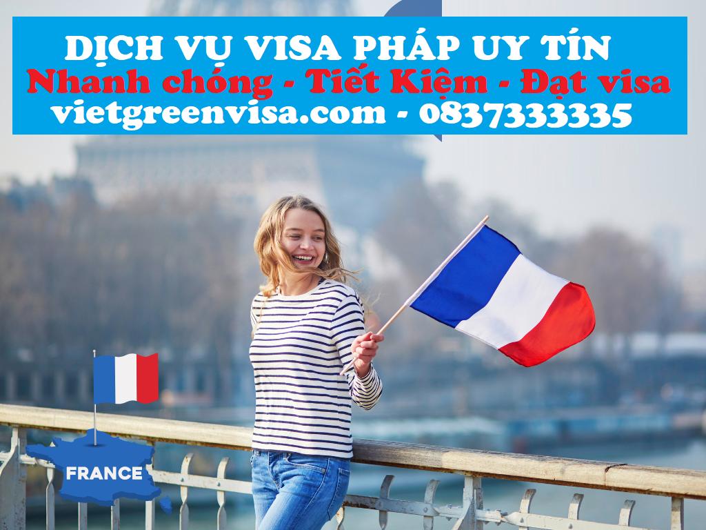 Kinh nghiệm xin visa Pháp cực hay