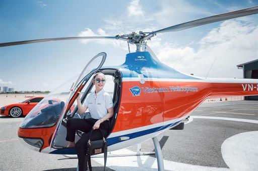 Tour bay trực thăng ngắm cảnh Vũng Tàu 15 phút