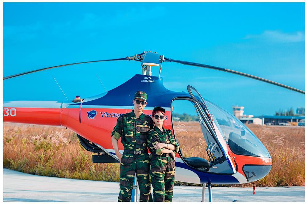 Bay trực thăng ngắm cảnh Vũng Tàu 60 phút chỉ 12.000.000đ