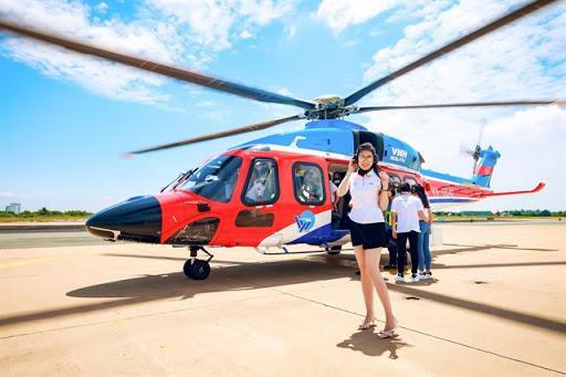 Bay trực thăng Côn Đảo - Vũng Tàu cuối tuần chỉ 2.200.000đ