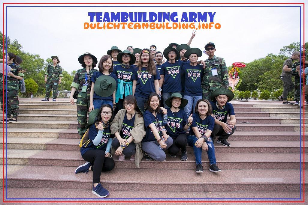 Tổ Chức Team Building Quân Đội 1 ngày tại Thiên Phú Lâm