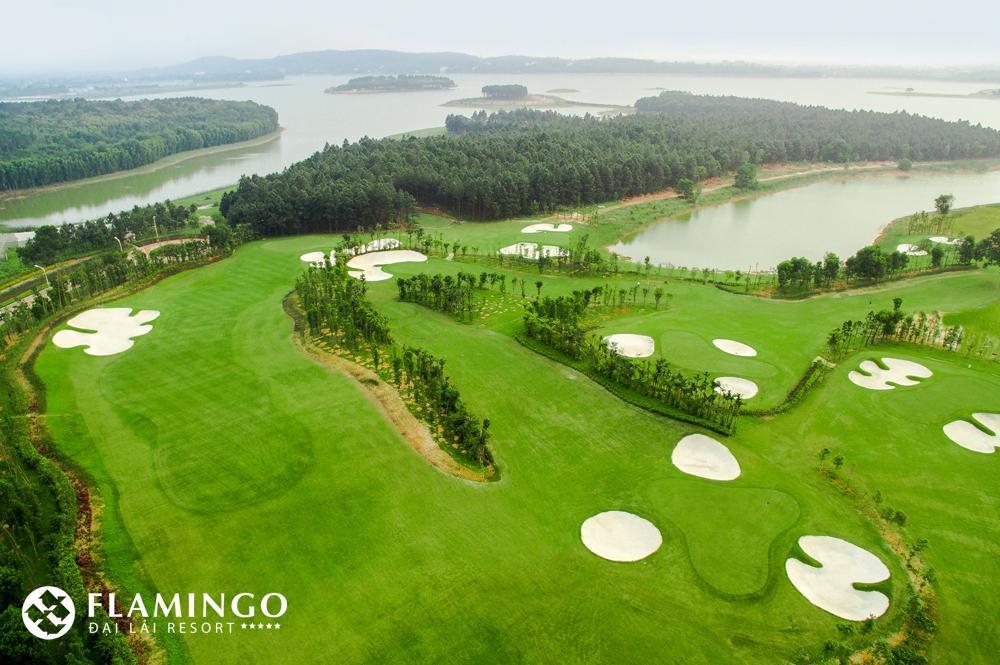 Combo golf 4 ngày 3 đêm tại Flamingo Đại Lải Resort