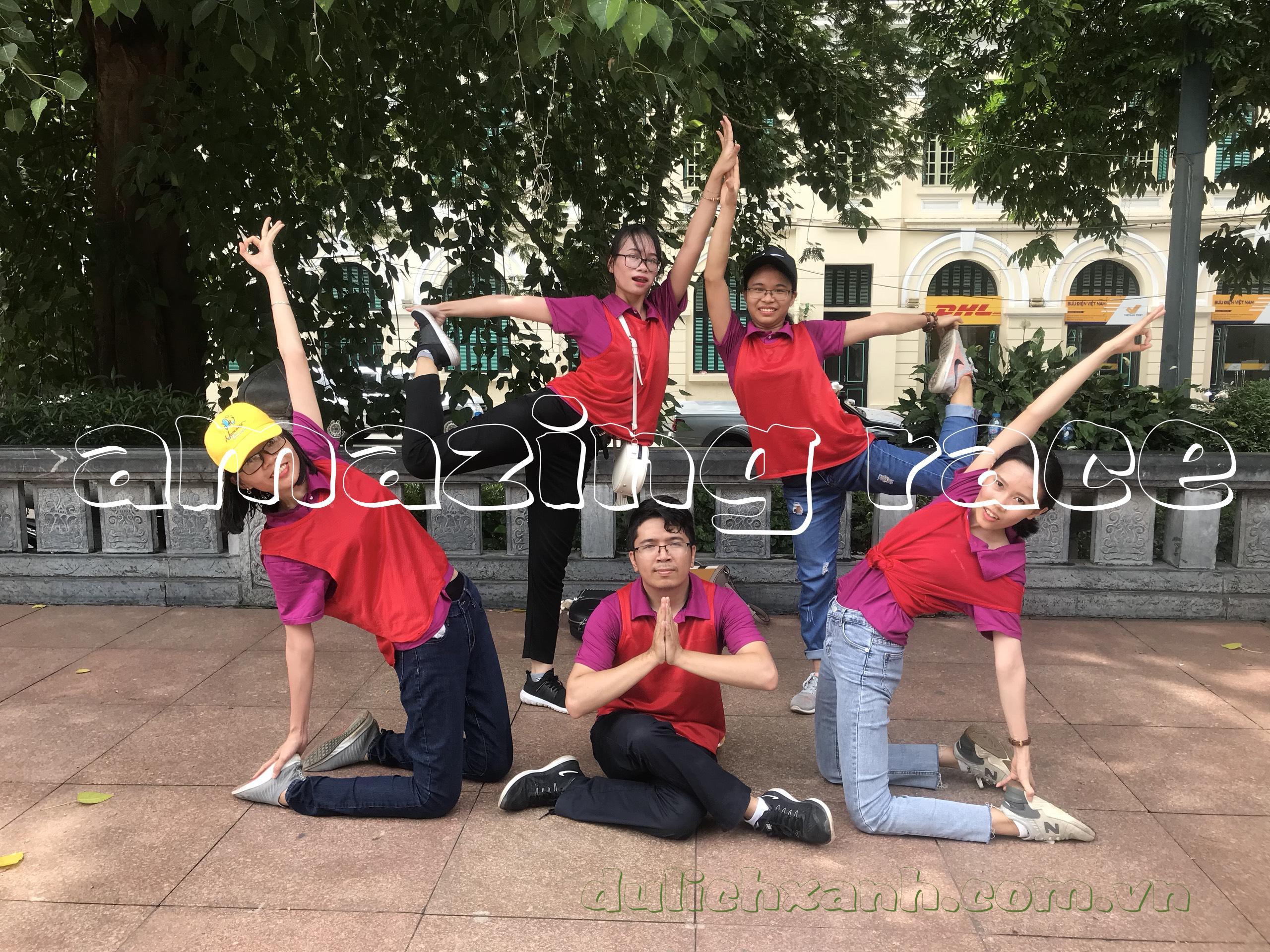 Team building ở Hà Nội - Amazing Race - Thăng Long Truyền kỳ