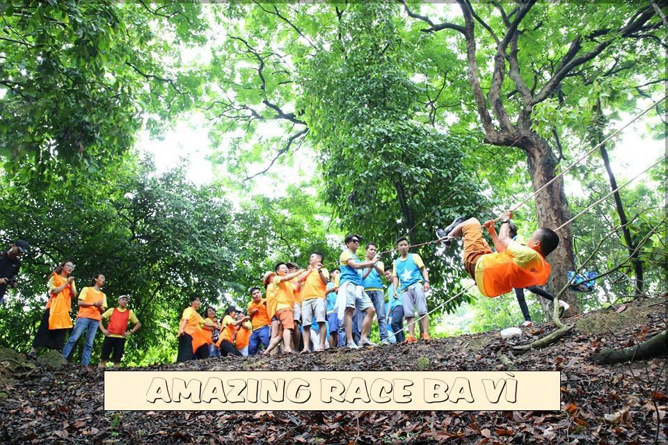 Team building cuộc đua kỳ thú rừng Bằng Tạ Ba Vì