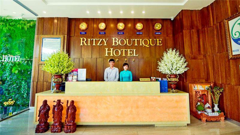 Khách sạn Ritzy Boutique 3 sao cách li Đà Nẵng