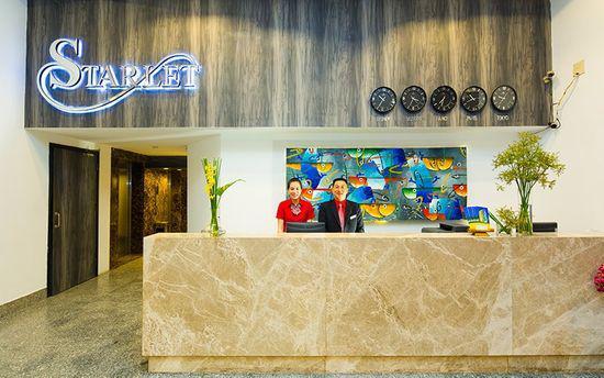 Khách sạn Starlet Hotel 3 sao cách ly tại Nha Trang