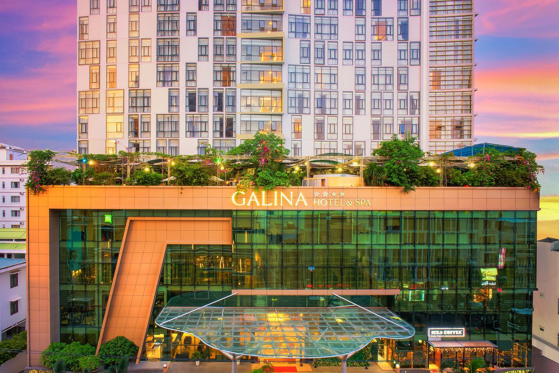 Khách Sạn Galina Hotel 4 sao cách ly COVID 19 tại Nha Trang