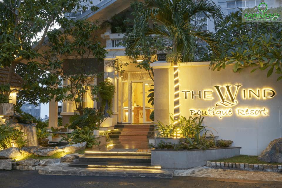 Khách sạn The Wind Mountainside Boutique cách ly tại Vũng Tàu