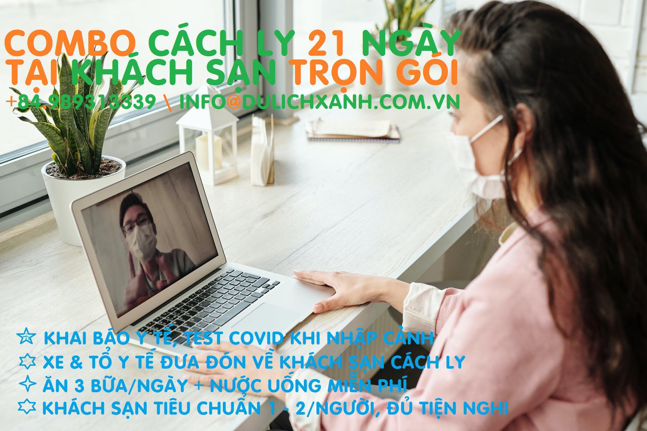 Combo Khách sạn cách ly 21 ngày tại Hà Nội