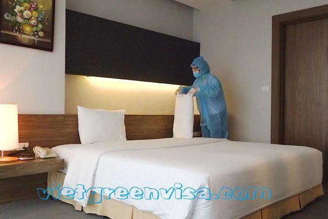 Combo Khách sạn cách ly 21 ngày tại Bình Dương