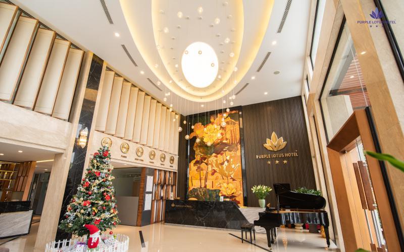 Khách sạn Purple Lotus Hotel 3 sao cách ly tại Hải Dương