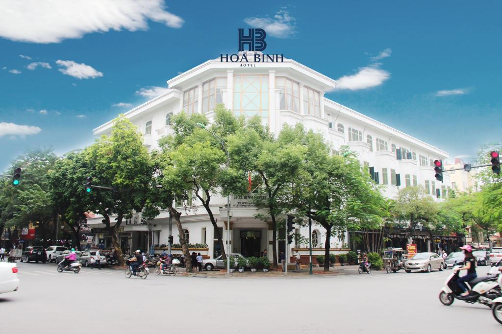 Khách Sạn Hòa Bình Hotel 4 sao cách ly tại Hà Nội