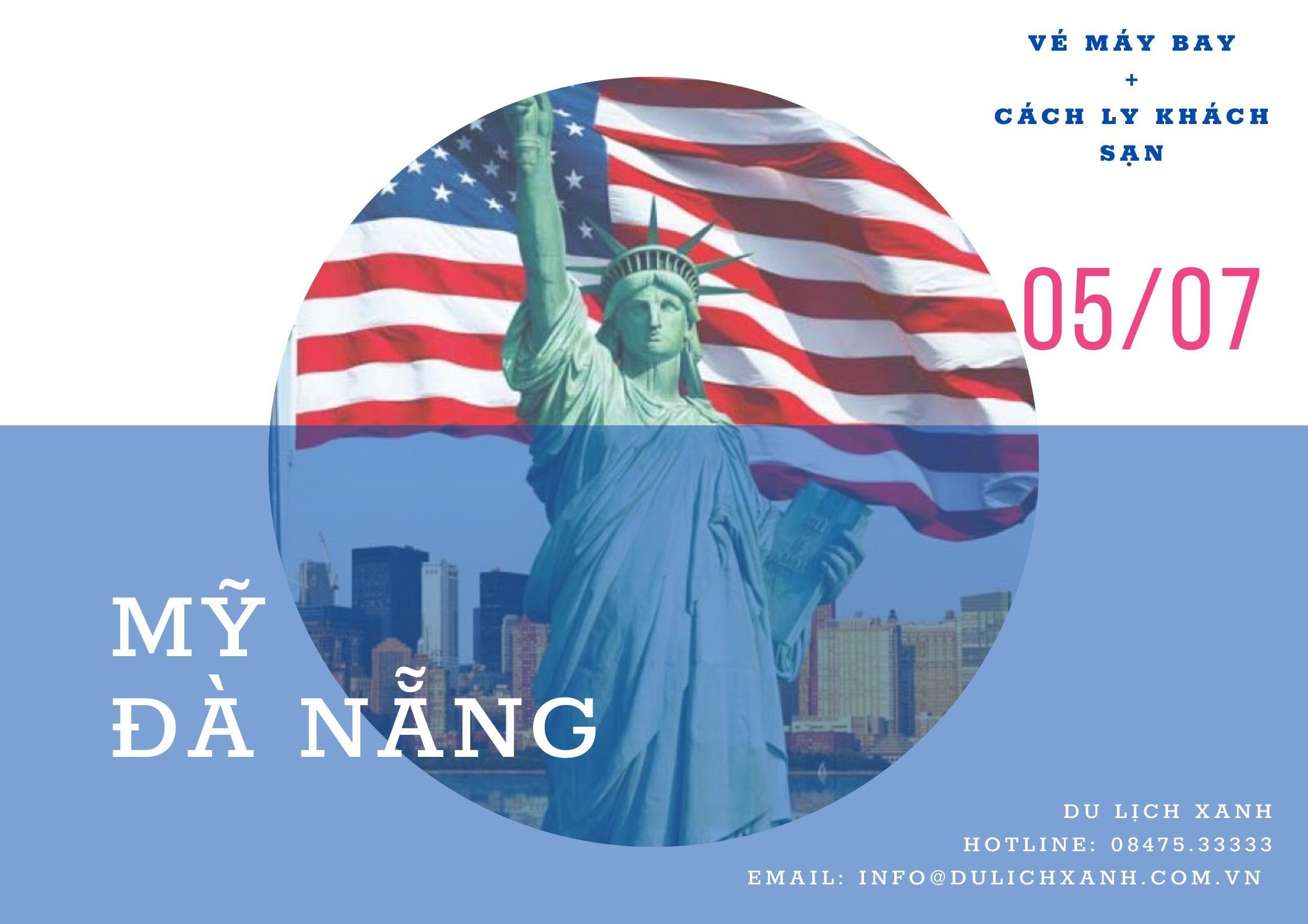 Lịch bay và cách ly từ Mỹ về Việt Nam tháng 7