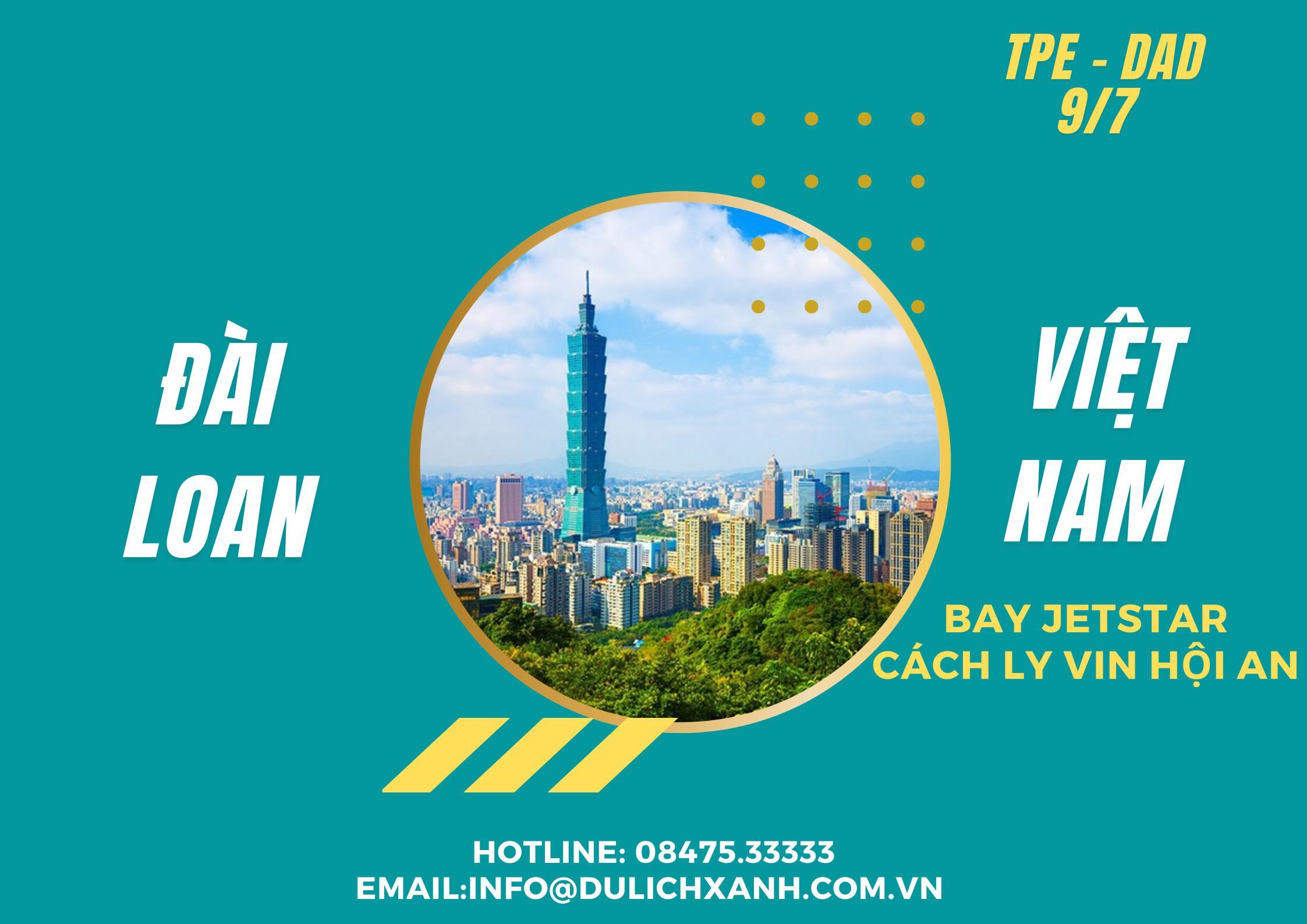 Chuyến bay nhân đạo từ Đài Loan về Việt Nam Tháng 7