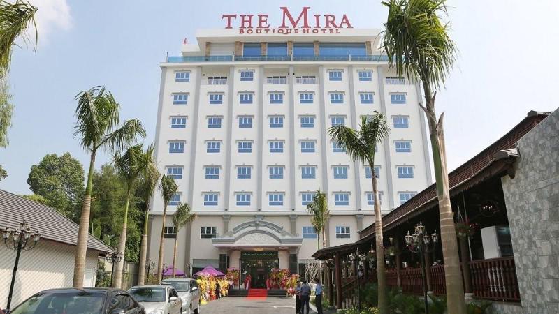 Khách sạn The Mira Boutique Hotel 3 sao cách ly tại Bình Dương