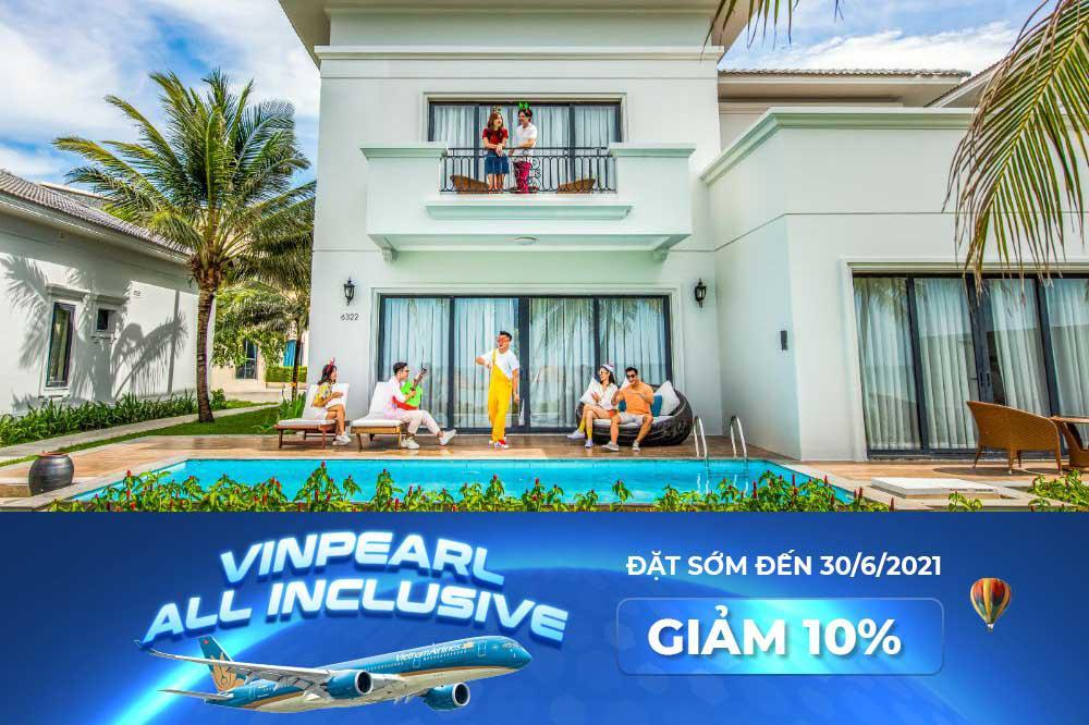 [HN-Phú Quốc] Du lịch an toàn - Nghỉ dưỡng trọn vẹn 15N14Đ | VMB Vietnam Airlines + phòng/villa Vinpearl