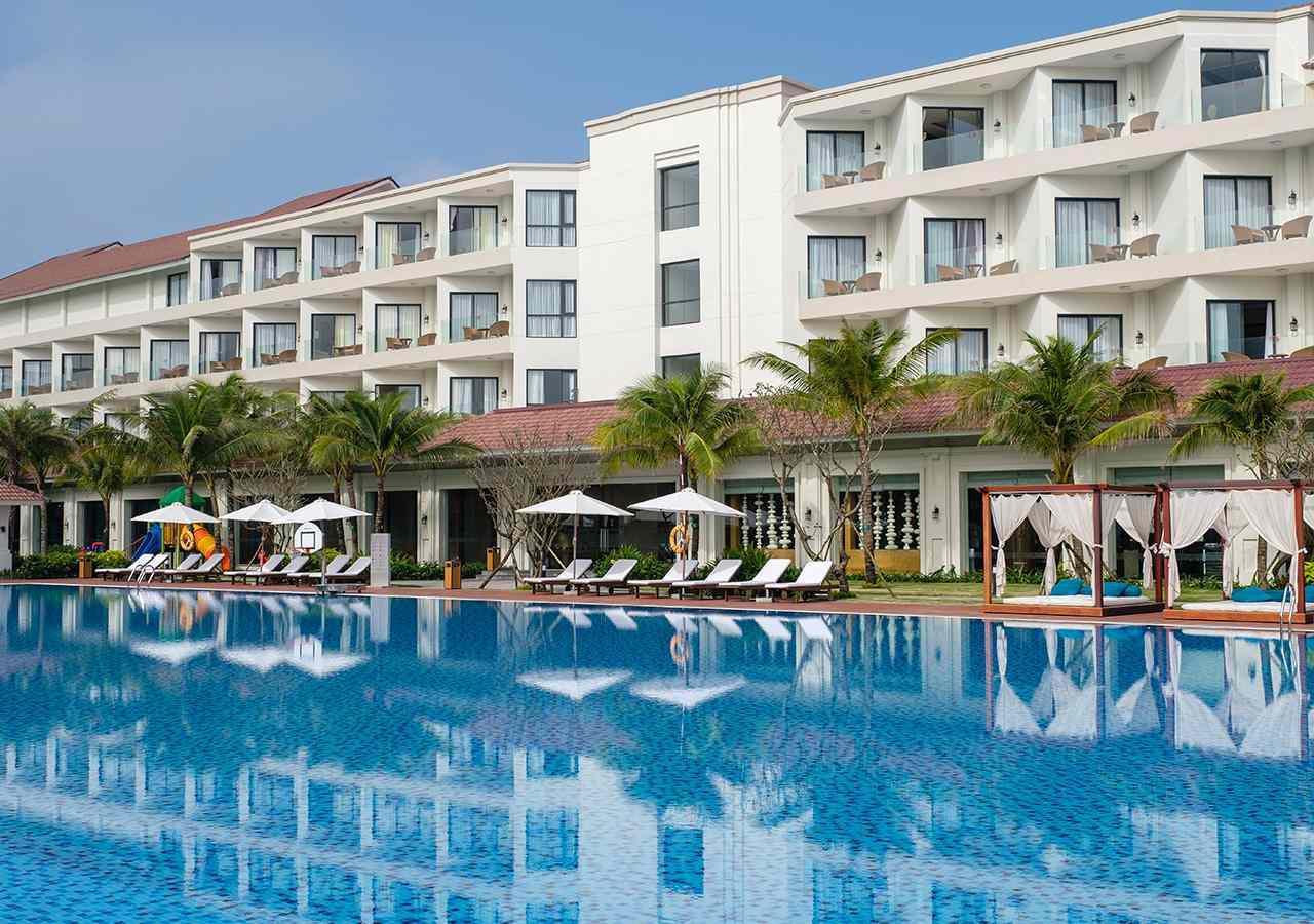 Khách sạn 4 sao Vinpearl Resort & Spa Hội An cách ly tại Quảng Nam