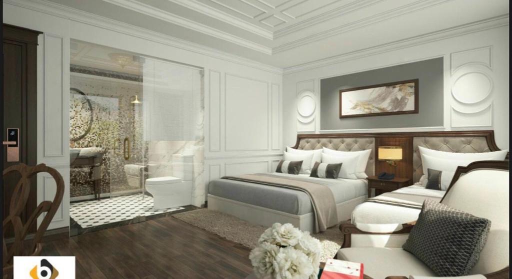 Khách Sạn Crown Hotel 3 sao cách ly tại Hưng Yên