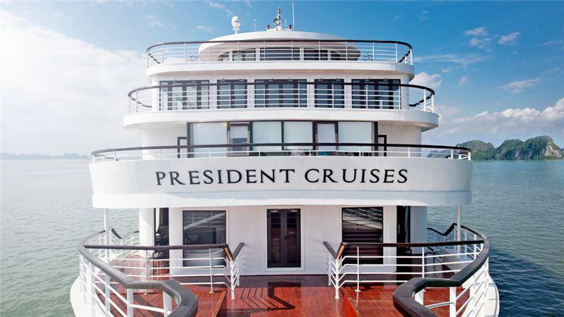 Combo Hạ Long 3N2Đ: Vinpearl Resort Hạ Long 5* + Du thuyền President 5*