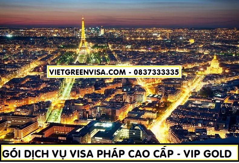 Dịch vụ làm visa Pháp cao cấp - Gói visa Pháp VIP GOLD
